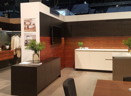 The HANÁK furniture at the prestigious KBIS exhibition in Orland.